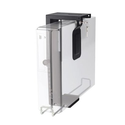 Newstar  CPU Holder (height PC: 20-36 cm/ width PC: 5-10 cm lock) Black 10 kilo