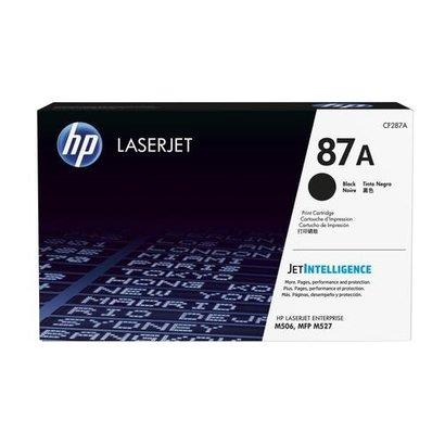 HP 87A Origineel Zwart 1 stuk(s)
