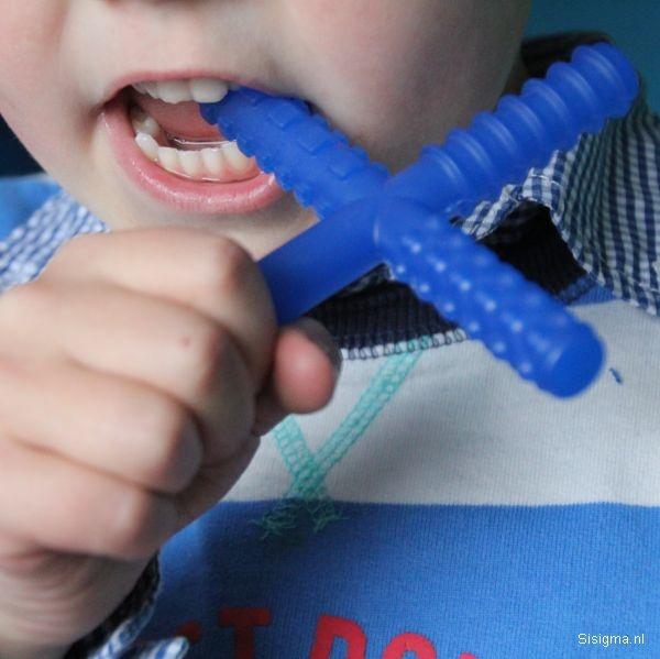 Sensory University Chew Stixx | Multi Texture Chewable Fidget (Blue)