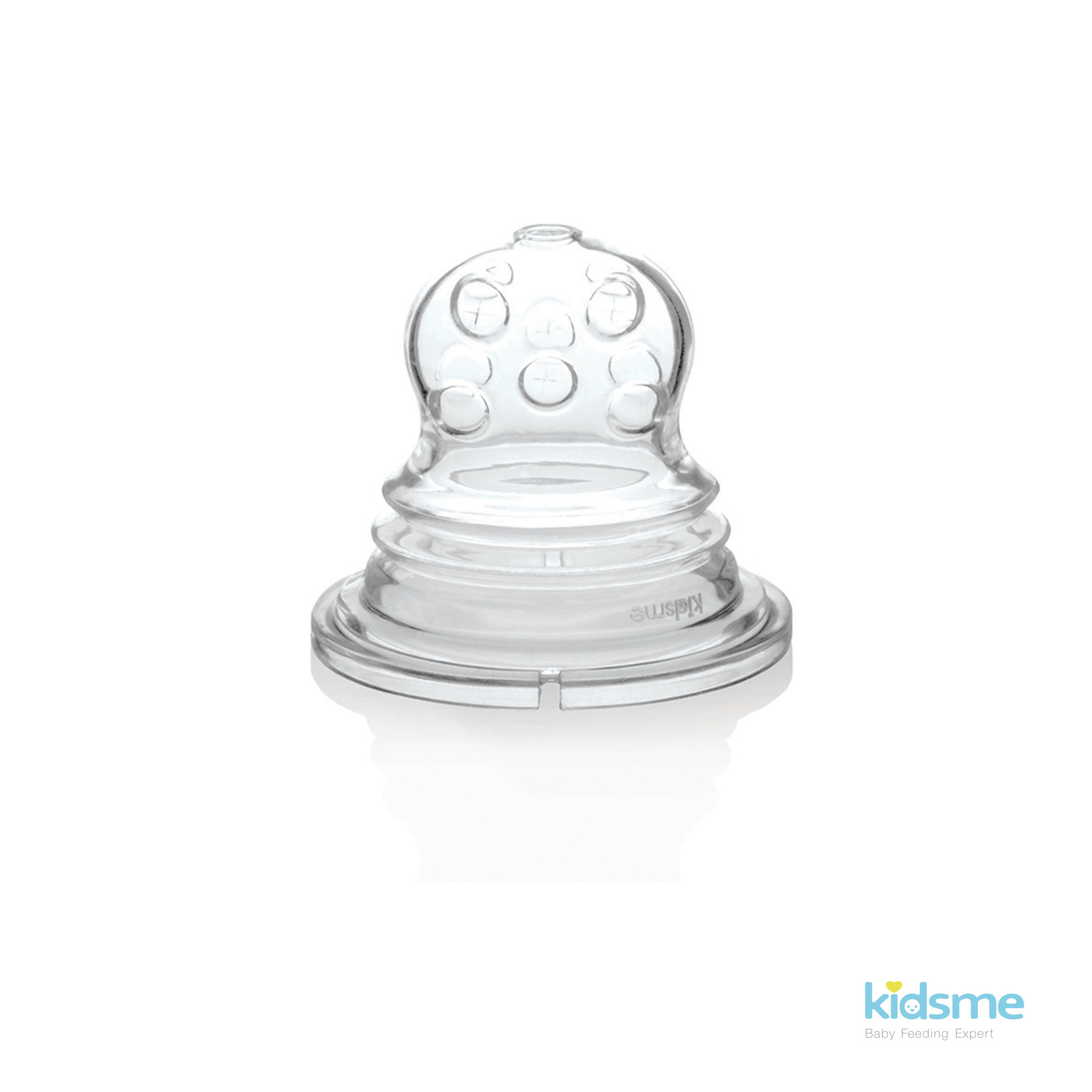 Kidsme Kidsme - Silicone Sac for Food Squeezer - 2 Pcs - Cross Holes