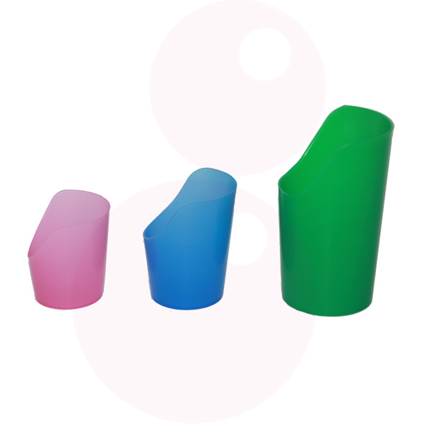 Equipment Shop Flexibele bekers met neusuitsparing (S, M, L)