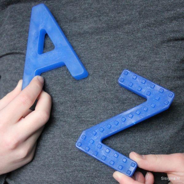 Sensory University Chew Stixx Chewable A&Z (Blue)