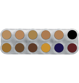 Grimas CAMOUFLAGE MAKE-UP PURE PALETTE