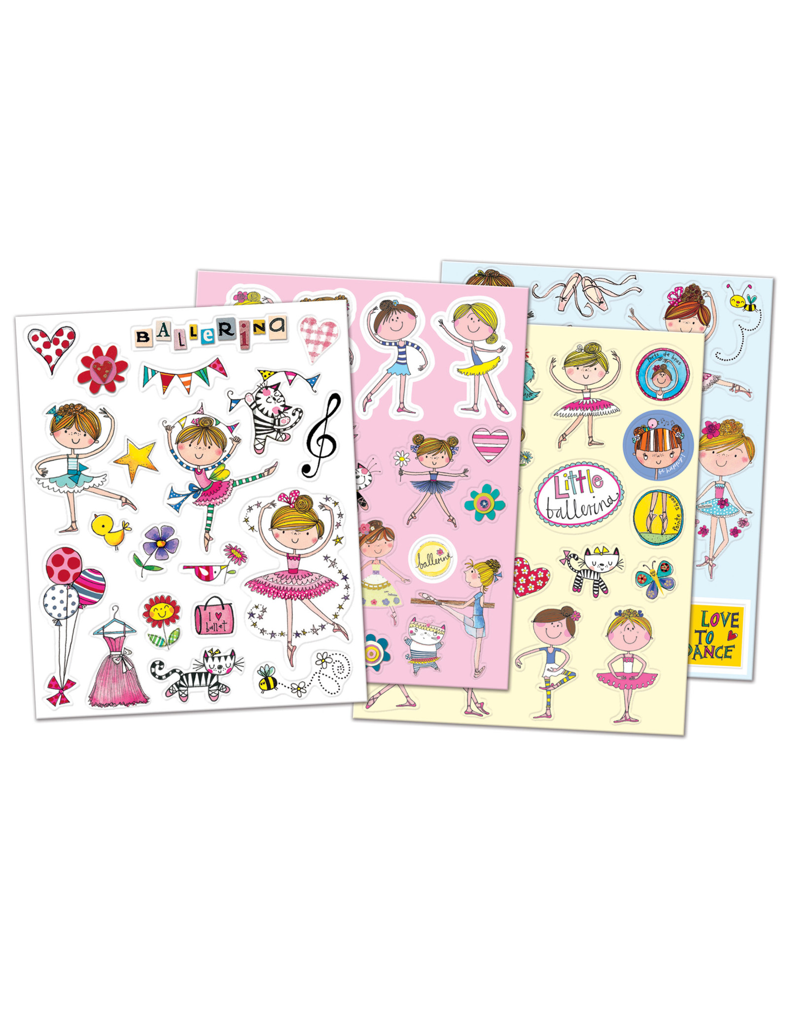 Intermezzo 9040 Ballerina stickers