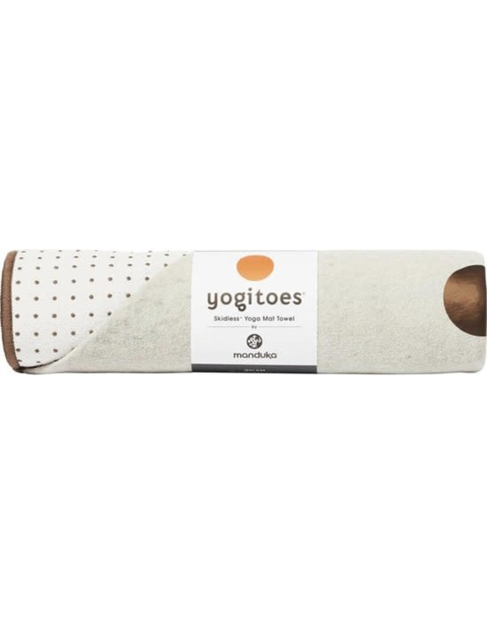 Manduka Yogitoes Mat Towel Earth