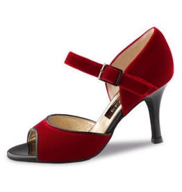 Nueva Epoca Romy 7cm Velvet Red/Patent Black