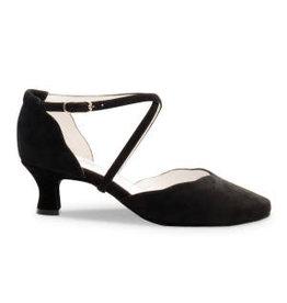 Anna Kern 572 5cm Suede Black