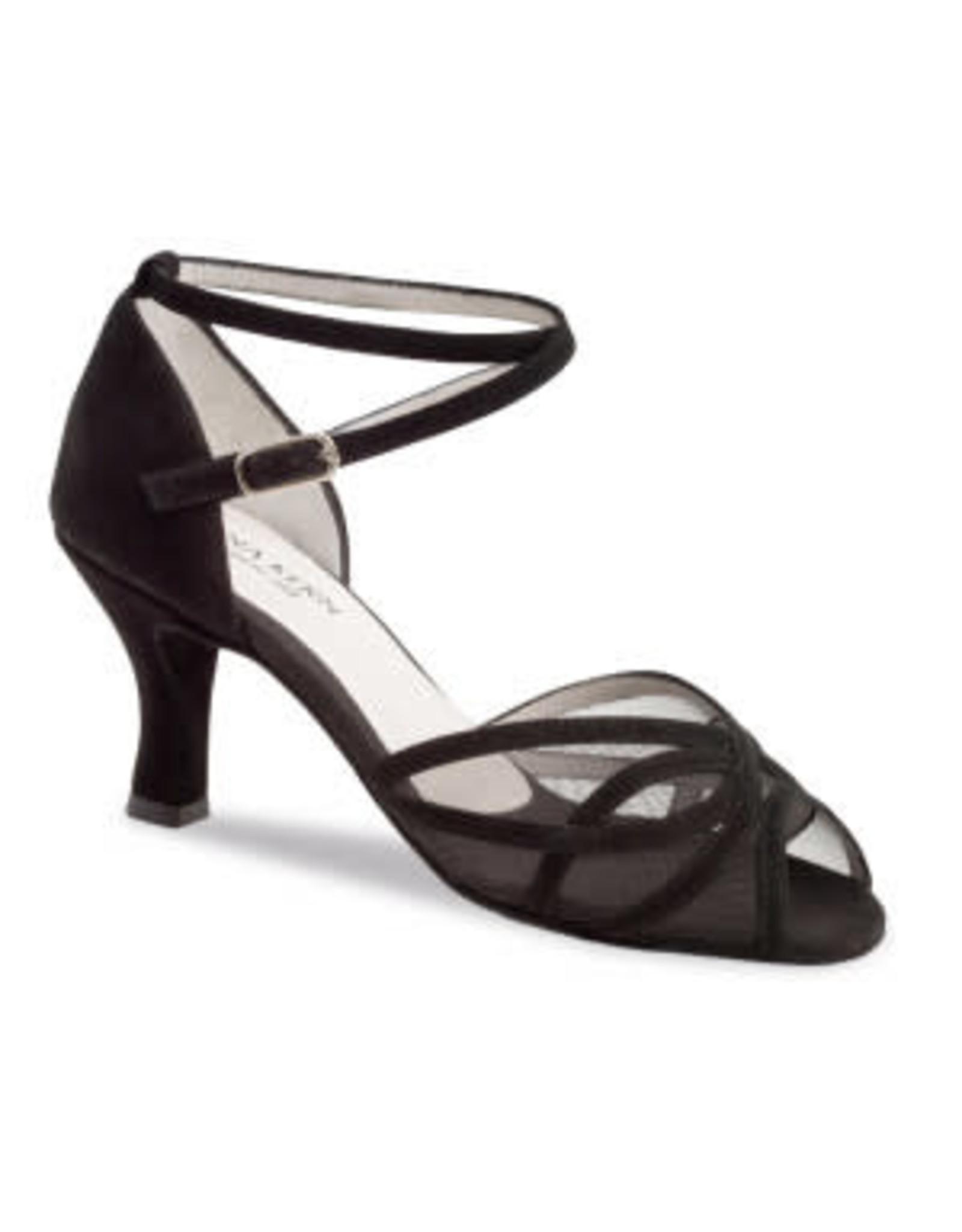 Anna Kern 740 6cm Suede Black