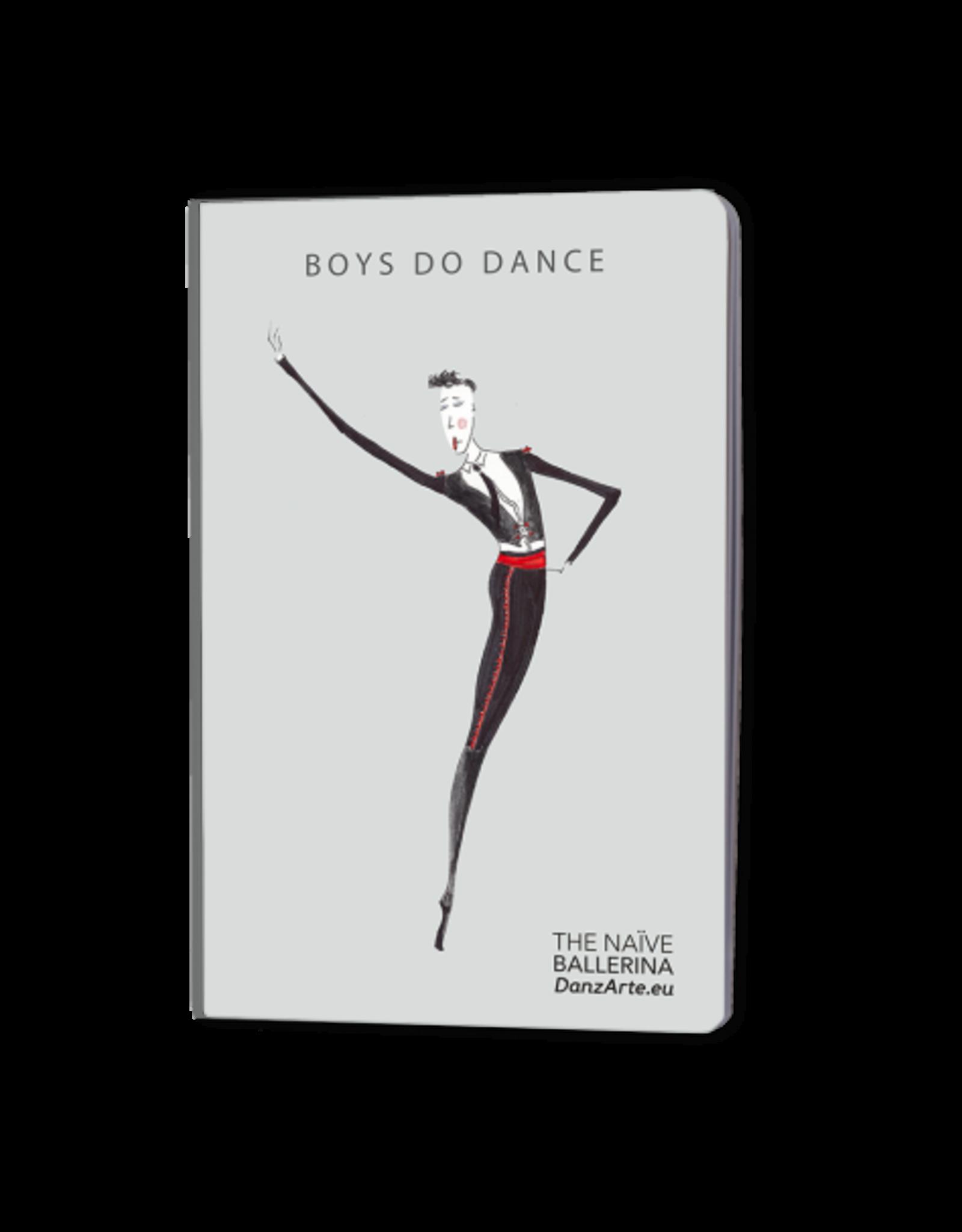 DanzArte Notebook Boys do Dance