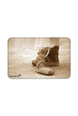 DanzArte Magnet Pointe Shoes Sepia