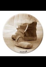 DanzArte Pocket Mirror Pointe Shoes Sepia