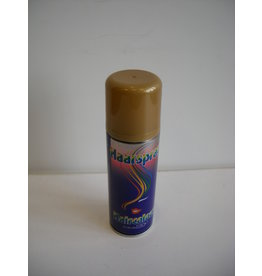 PartyXplosion Hairspray 125 ml Gold