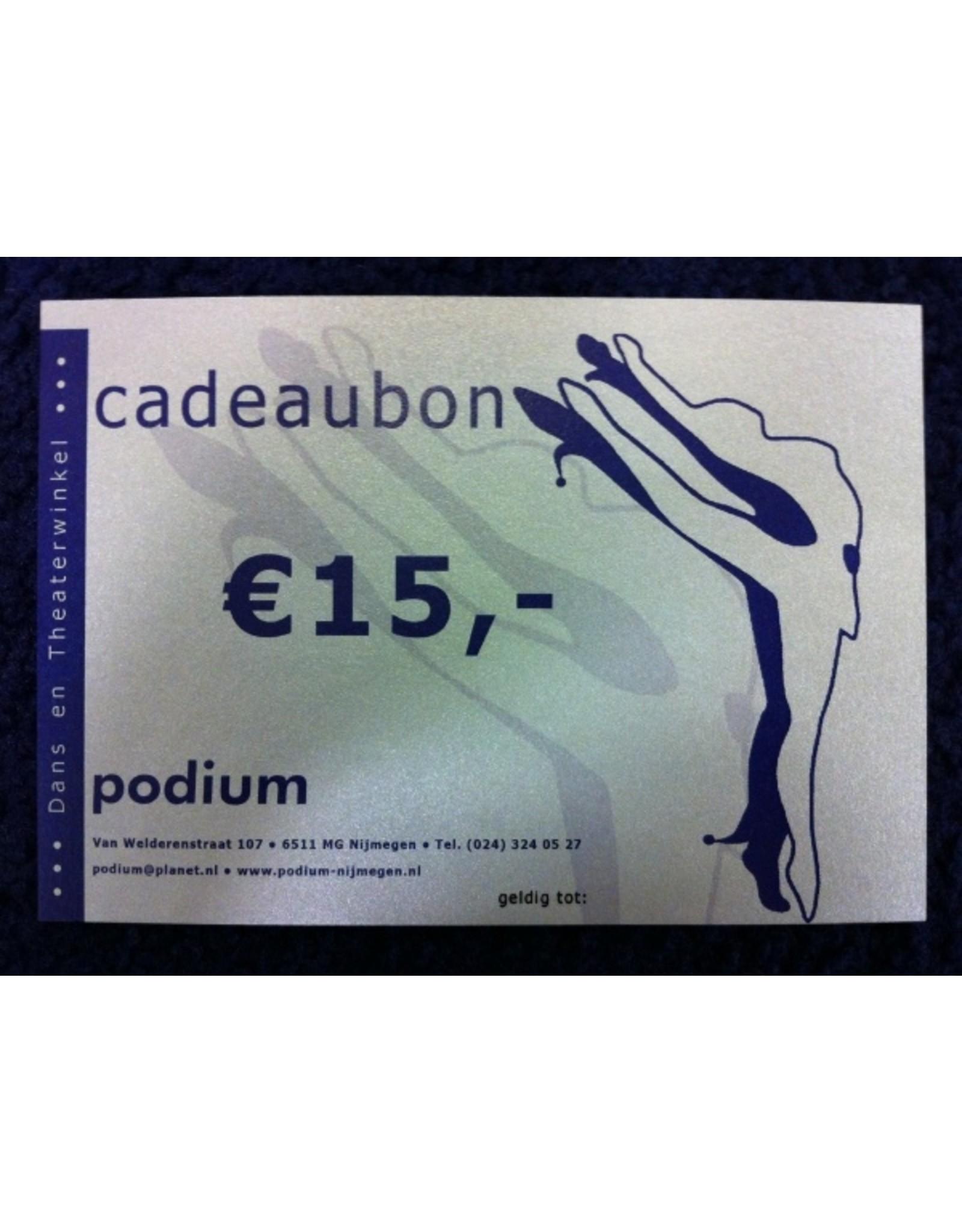 Cadeaubon Podium Nijmegen Dans Yoga Schmink