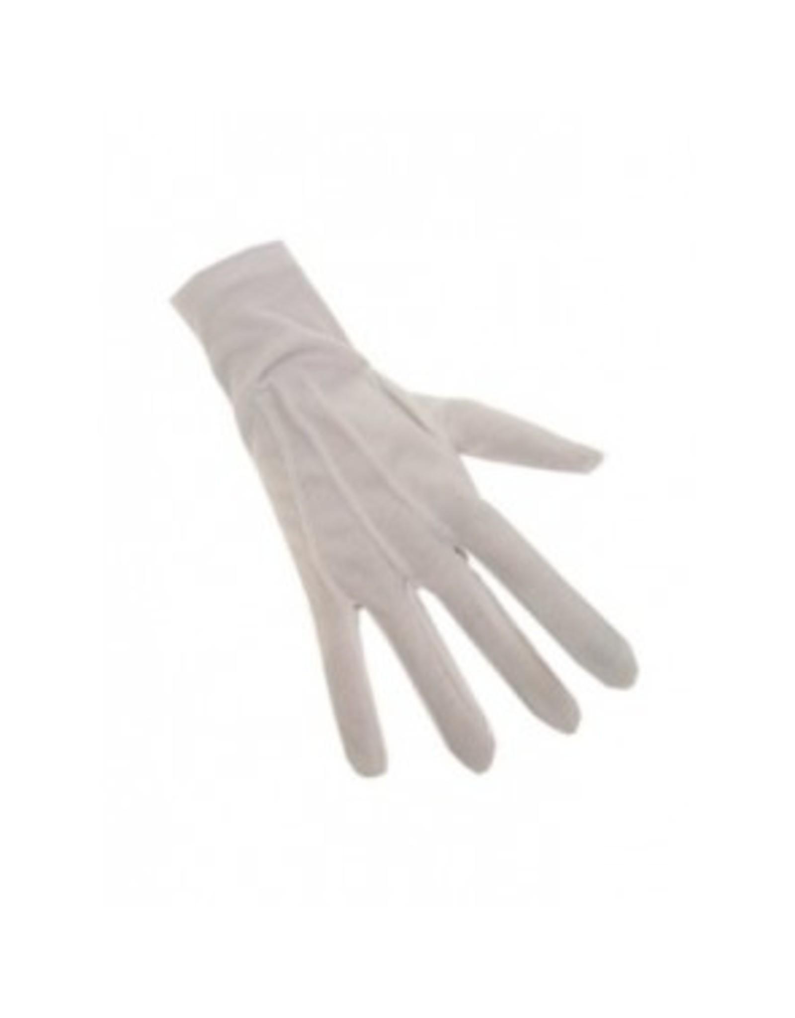 PartyXplosion Sint handschoenen wit