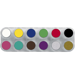 Grimas WATER MAKE-UP PALETTE 12A Palet 12