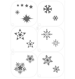 Grimas MAKE-UP TEMPLATE 10 A5 (14,8 x 21cm)