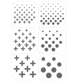 Grimas MAKE-UP TEMPLATE 11 A5 (14,8 x 21cm)