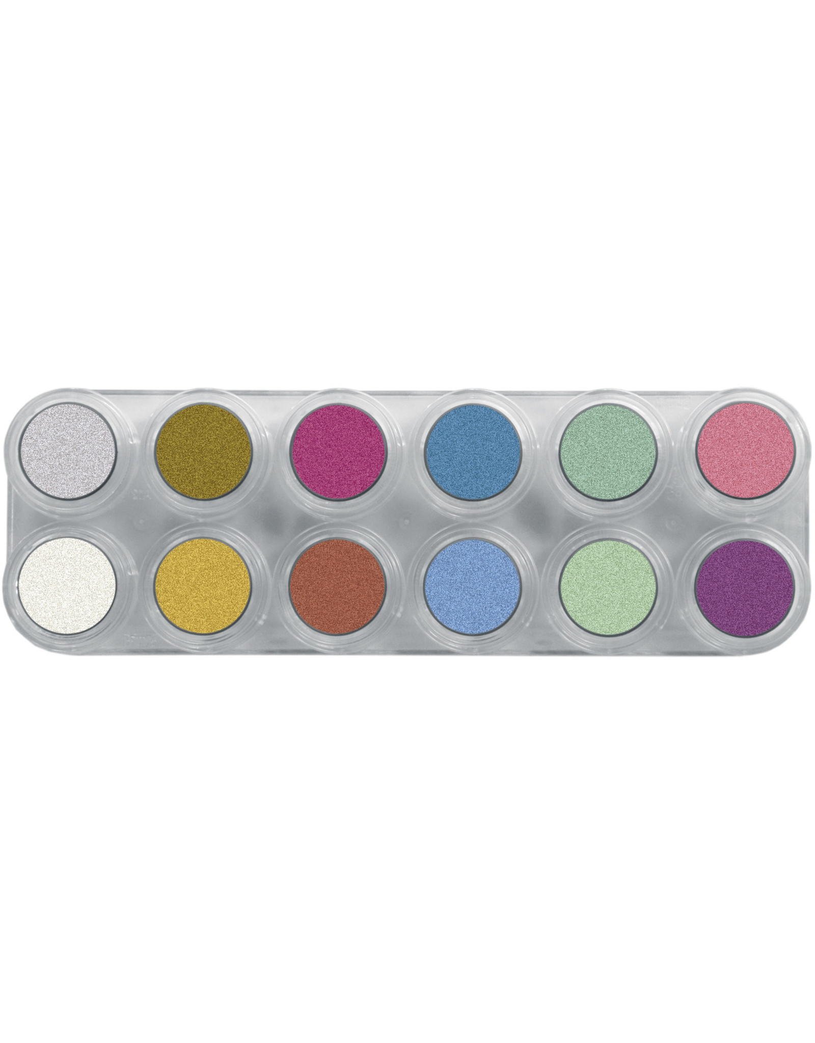 Grimas WATER MAKE-UP PEARL PURE PALETTE P12 Palet 12