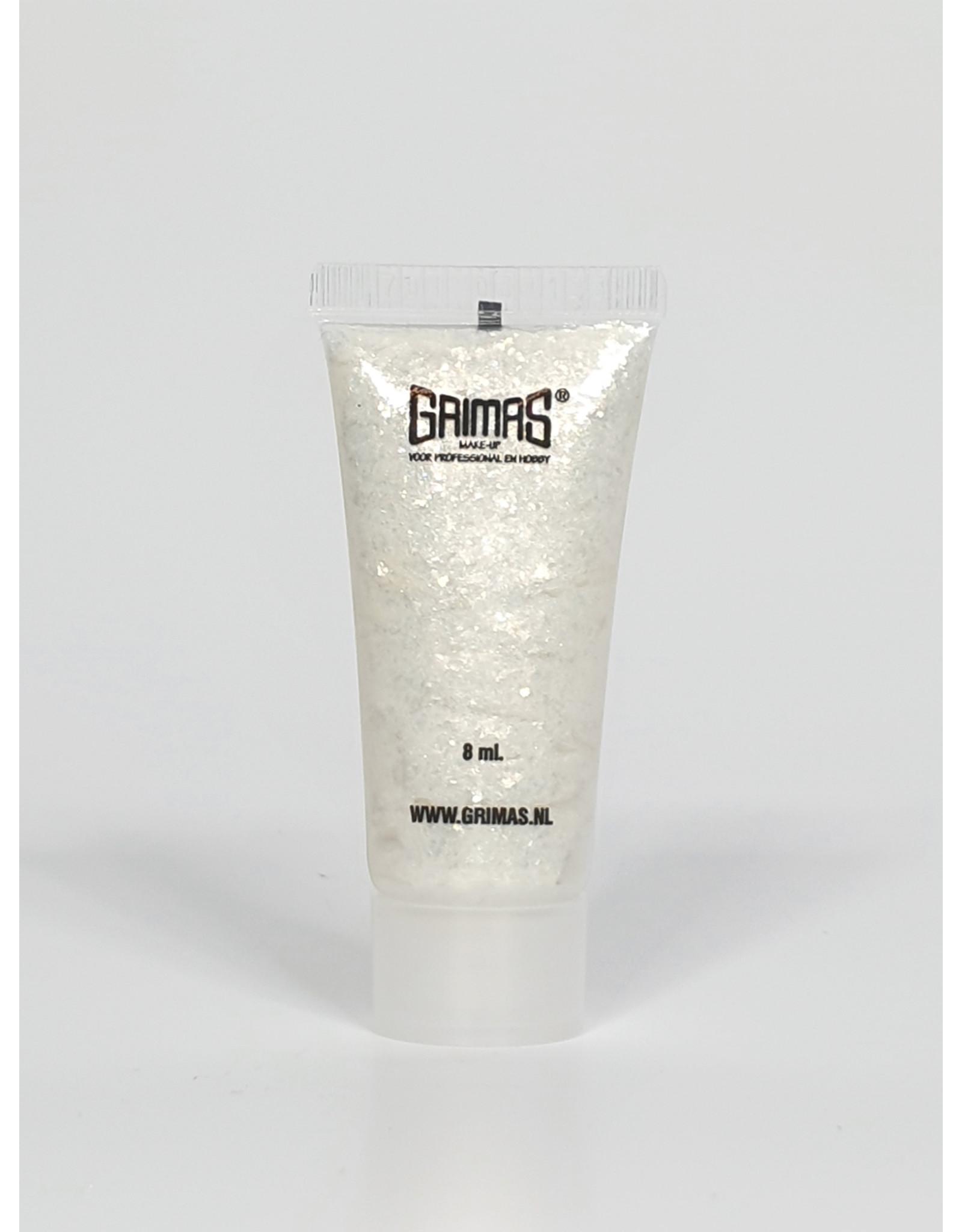 Grimas SHIMMER GEL 701 Zilver 8 ml