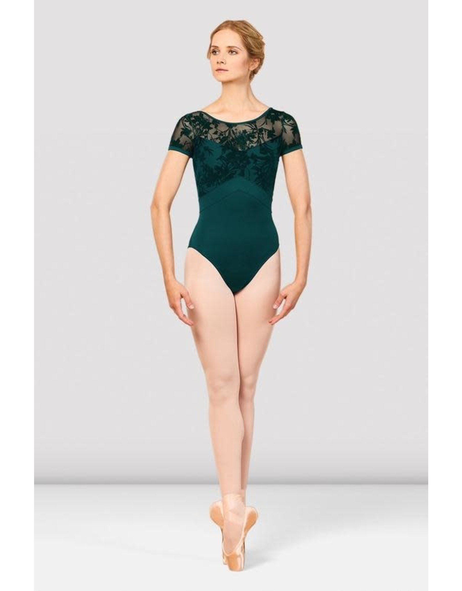Bloch L7892 Balletpak Eliana floral mesh