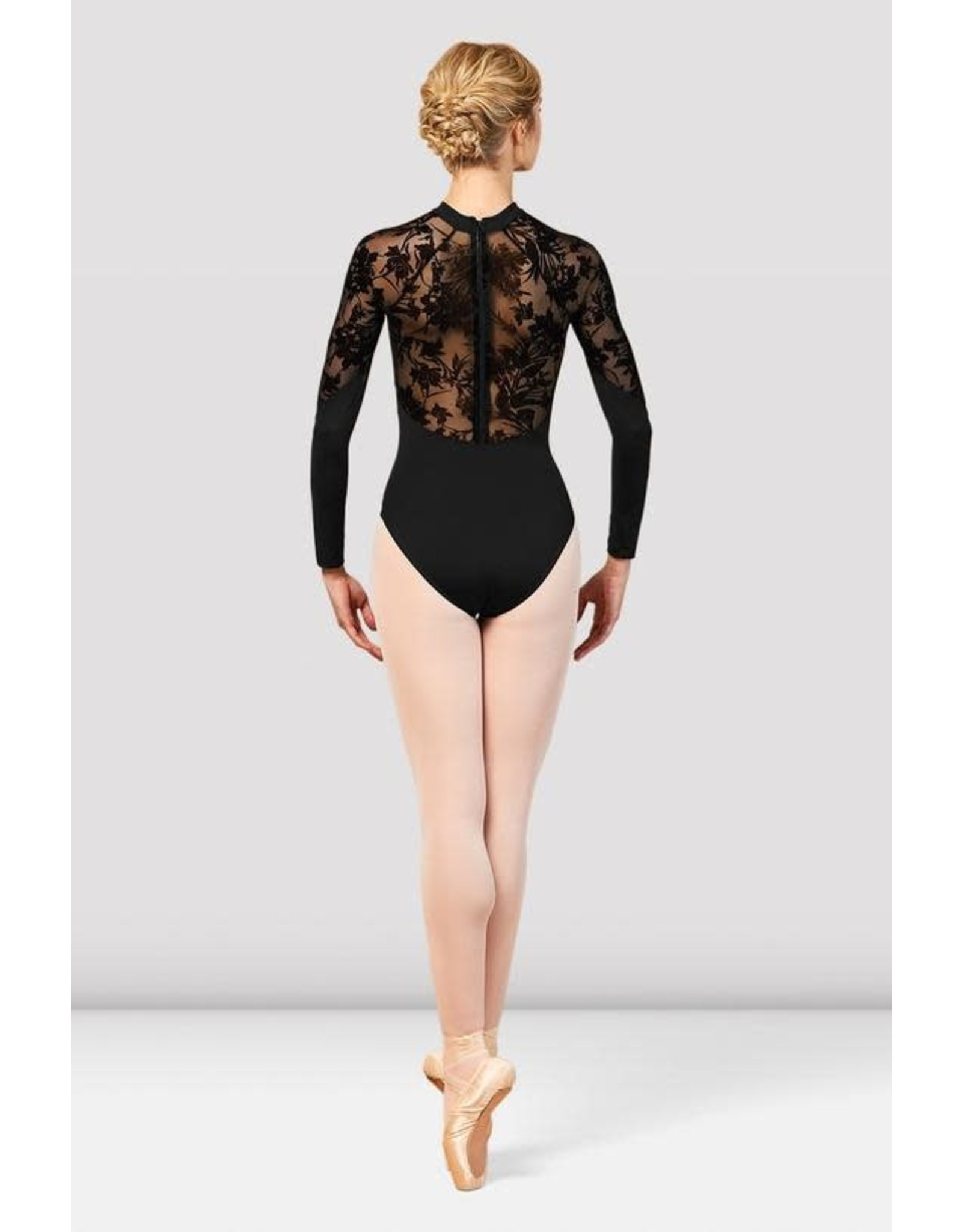 Bloch L7839 Balletpak Kahlo floral mesh