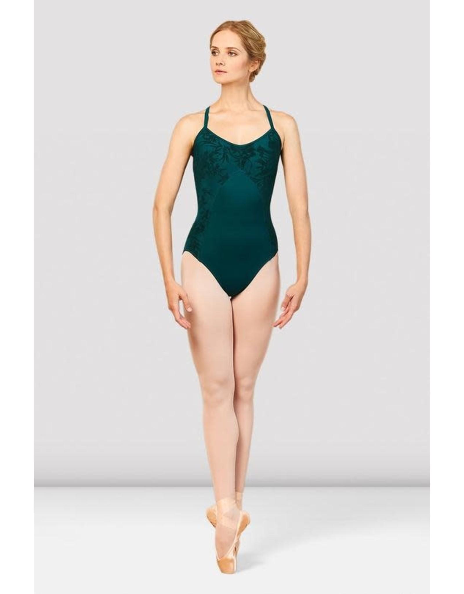 Bloch L7887 Balletpak Dove floral mesh