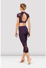 Bloch FP5223 7/8 legging floral mesh