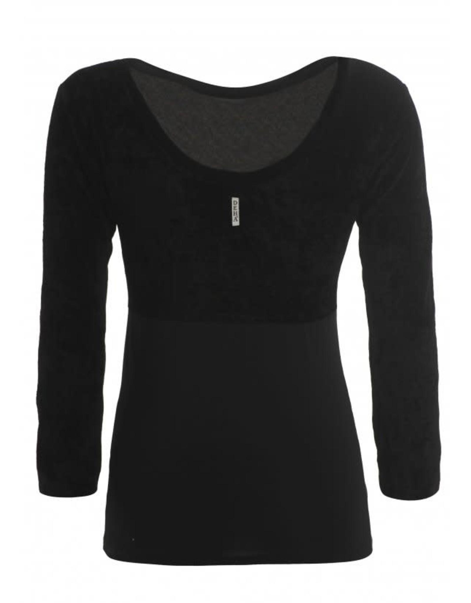Deha B34022 ¾ sleeve shirt