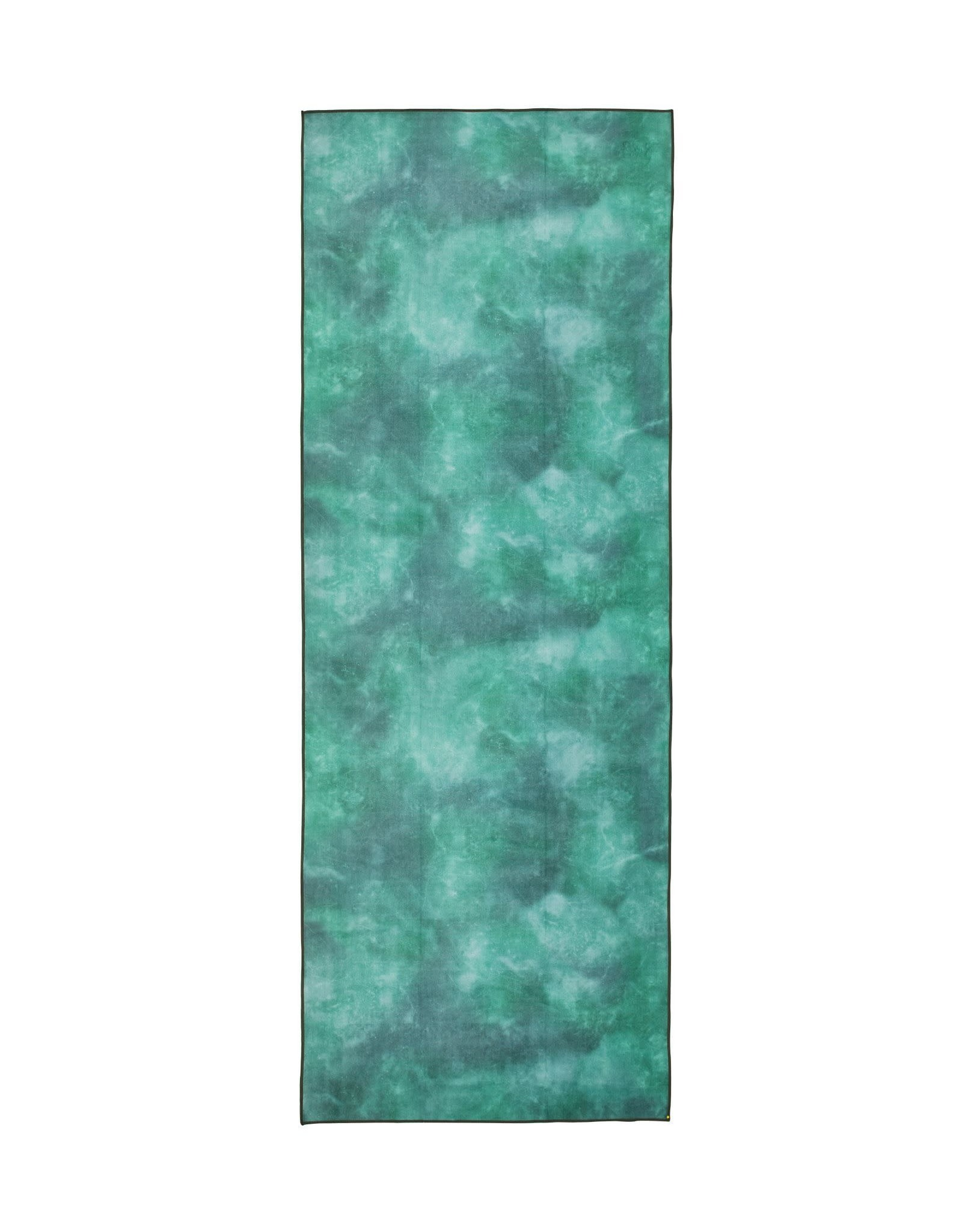 Manduka Mat Towel Camo Tie Dye Greens