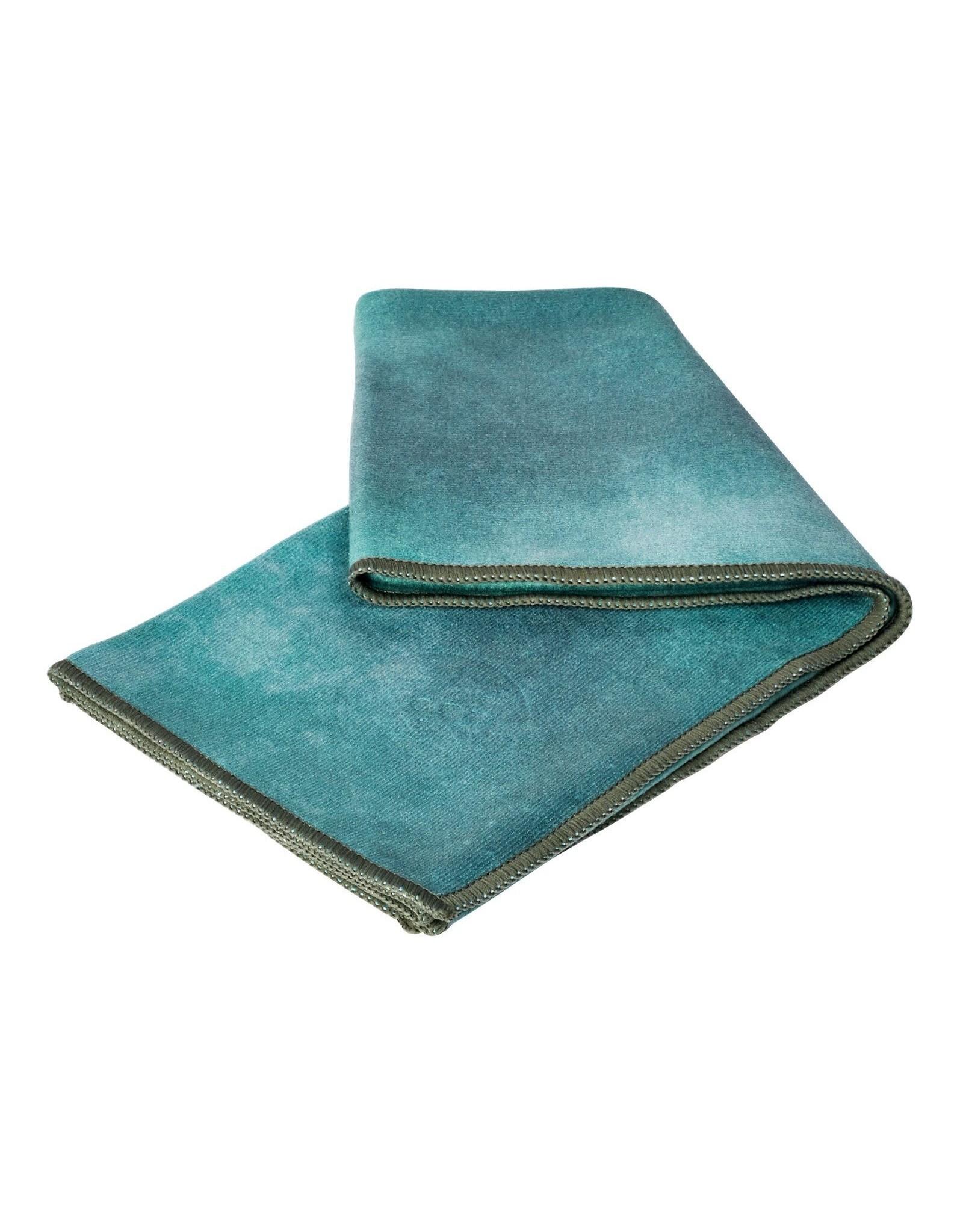 Manduka Towel Camo Tie Dye Greens