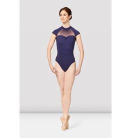 Mirella M5091LM Balletpakje kapmouwtje. high neck