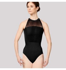 Mirella M8026LM Balletpakje high neck. open back