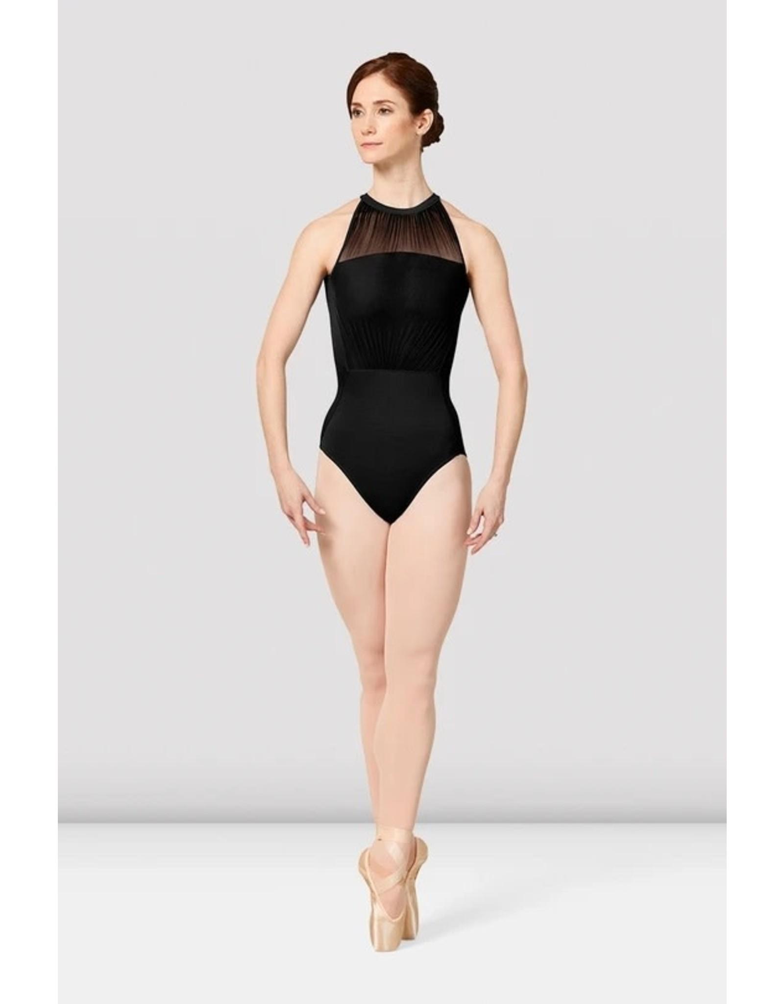 Mirella M8026LM Balletpakje high neck. open back