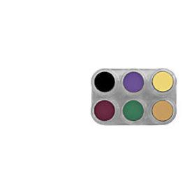 Grimas CREME MAKE-UP PURE palet Bruise Palet 6