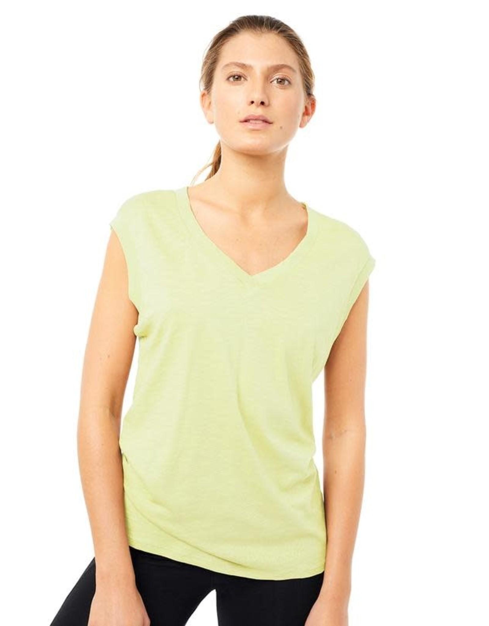 Mandala SS21 Ribbed V-neck Shirt