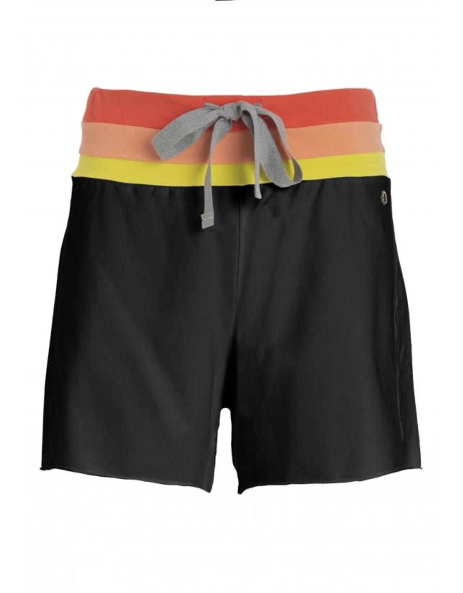 Deha SS21 B44515 Multicolor stripes short