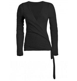 Deha SS21 B32501 Boucle Wrap Sweater