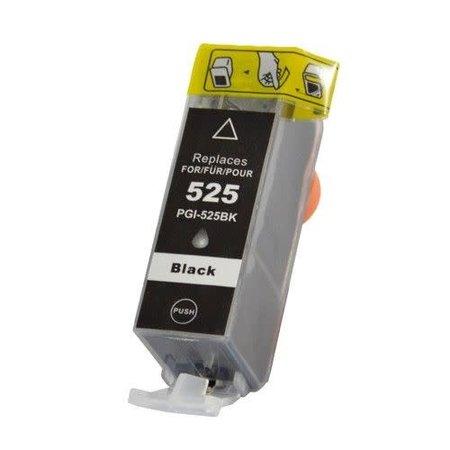 Huismerk Canon 525BK inkt Cartridge Incl. Chip huismerk