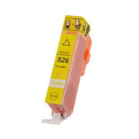 Huismerk Canon 526Y inkt Cartridge  Incl Chip huismerk