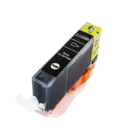 Huismerk Canon 526BK inkt Cartridge  Incl Chip Huismerk