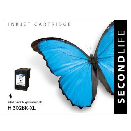 Huismerk HP 302 XL Black huismerk inkt Cartridge