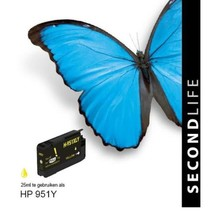 HP 951 Yellow XL inkt Cartridge
