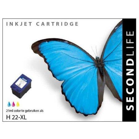 Huismerk HP 22 XL inkt Cartridge Color