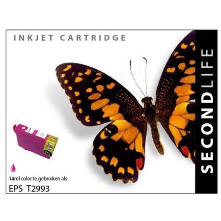Huismerk Epson 29XL (T2993) Magenta inkt Cartridge Incl. Chip