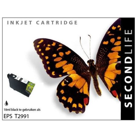 Huismerk Epson 29XL (T2991) Black  inkt Cartridge Incl. Chip