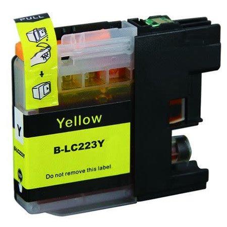 Huismerk Brother 223Y XL Yellow Inkt Cartridge