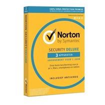 Norton Security Deluxe 3-Devices 1 jaar Software
