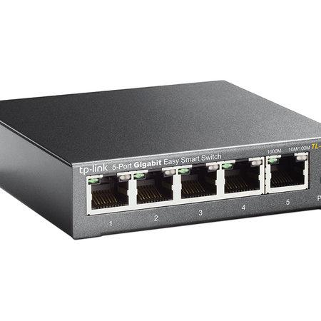 TP-Link TL-SG105E 5-port Metal Gigabit Switch