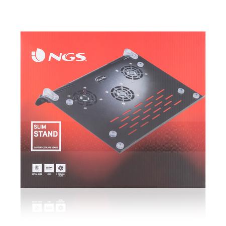 NGS Slim Stand laptop koeler stand