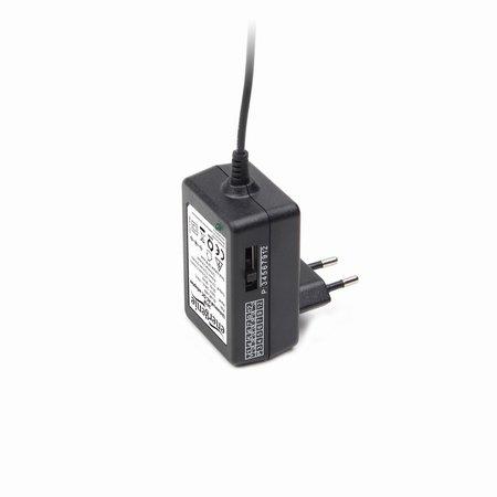 Universele AC DC adapter - 24w - 3 tot 12 Volt